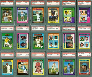 PSA Graded Cards:  The Grading System and How it's Done