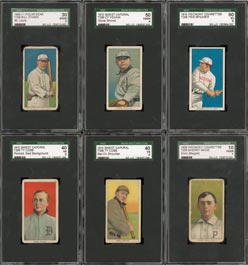 SGC Graded Baseball Cards:  Vintage Specialists