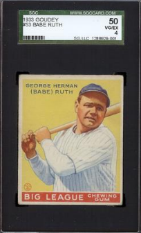 Hottest Vintage Baseball Cards On Ebay Vintage Graded
