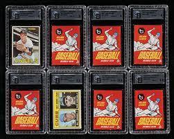 GAI Graded Baseball Cards