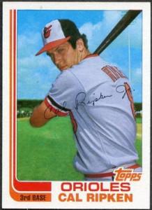 1982 Topps Traded Cal Ripken