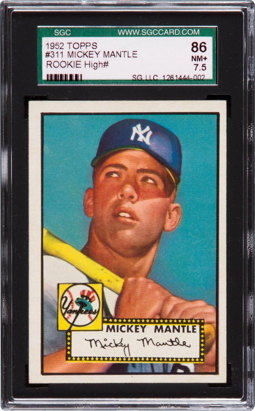 baseball card investment advice  vintage graded baseball