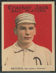 Chief Bender 1915 Cracker Jack