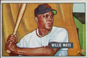 Willie Mays 1951 Bowman