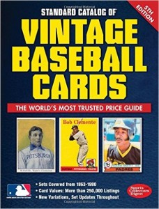 5th Edition of Standard Catalog of Vintage Baseball Cards