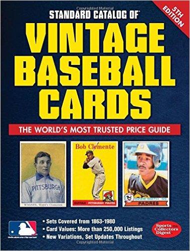 2015 Standard Catalog Vintage Baseball Cards